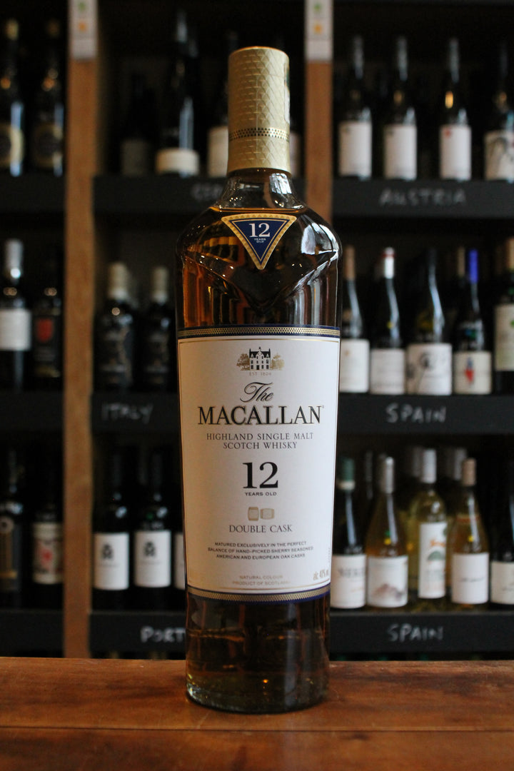 Macallan 12 Year Old Double Cask-Spirits-Seven Cellars