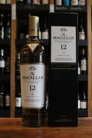 Macallan - Sherry Oak Cask 12 Year Old - Single Malt Scotch-Spirits-Seven Cellars