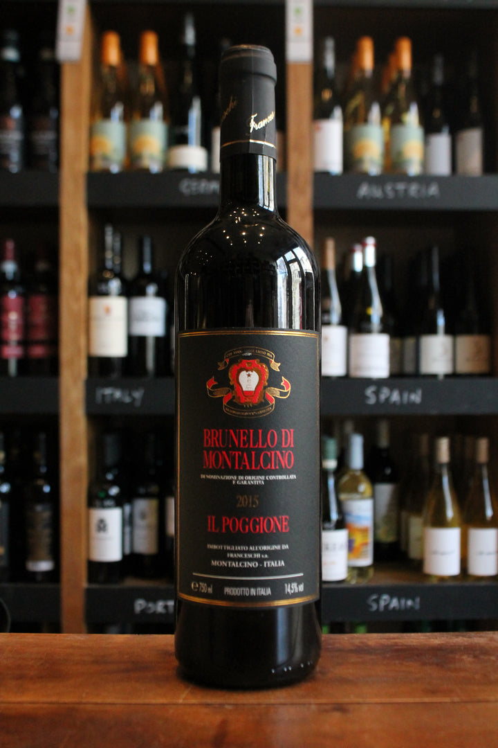 Brunello 15 Poggione - Montalcino-Red Wine-Seven Cellars
