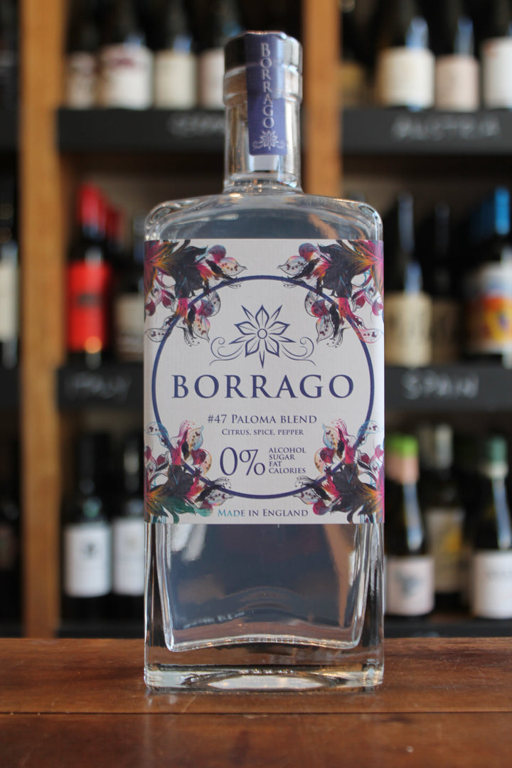 Borrago - #47 Paloma Blend - Non Alcoholic Spirit-Non/Low Alcohol-Seven Cellars