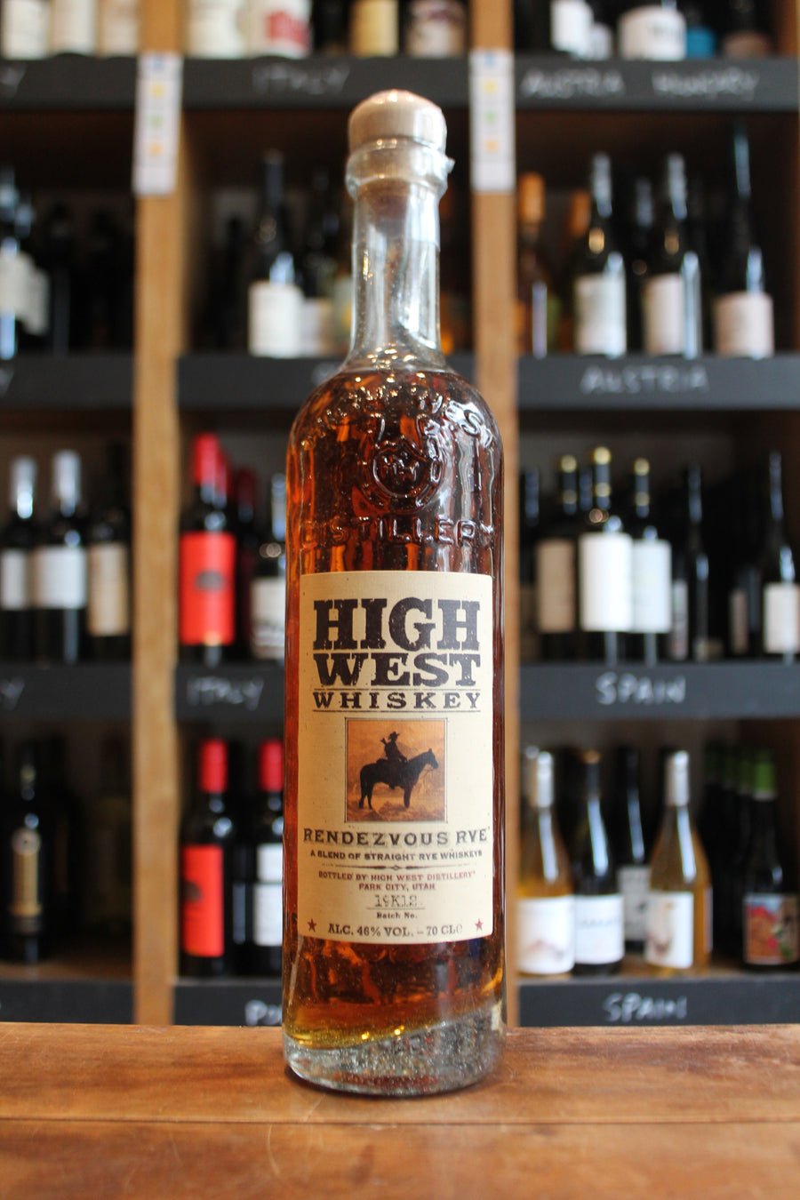 High West Whiskey - Rendezvous Rye-Spirits-Seven Cellars