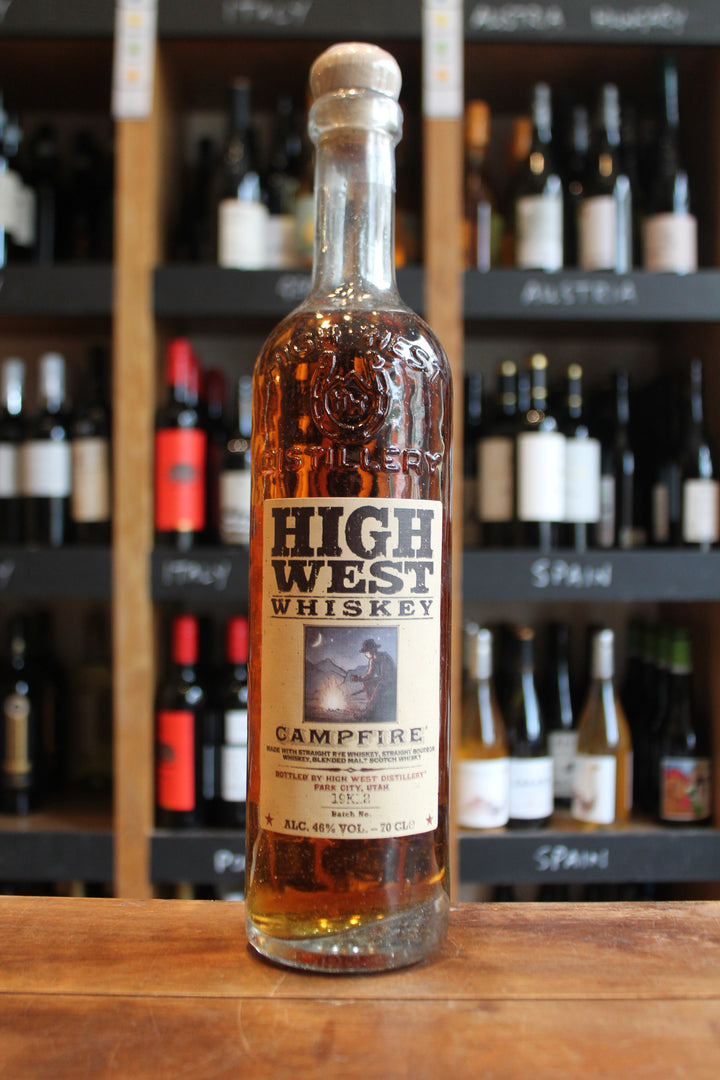 High West Whiskey - Campfire-Spirits-Seven Cellars