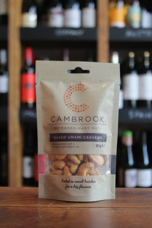 Cambrook - Baked Umami Cashews-Snacks-Seven Cellars