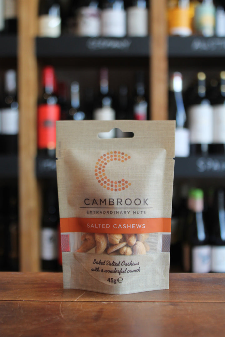 Cambrook - Baked & Salted Cashews-Snacks-Seven Cellars