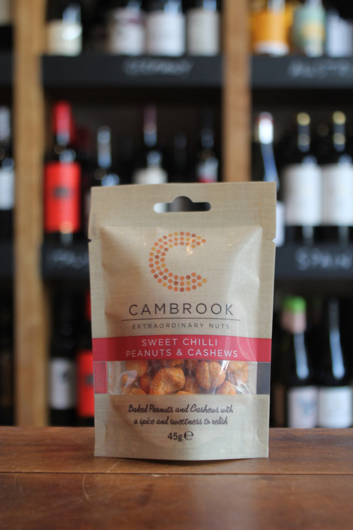 Cambrook - Baked Sweet Chilli Peanuts & Cashews-Snacks-Seven Cellars
