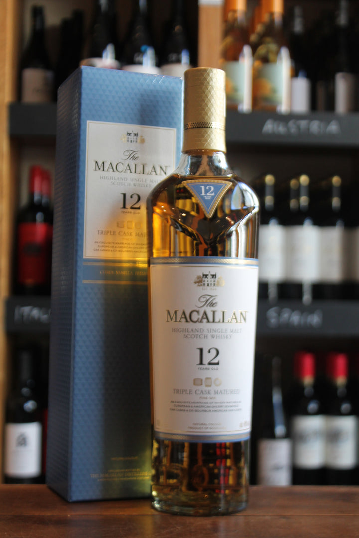 Macallan 12 YO Triple Cask-Spirits-Seven Cellars
