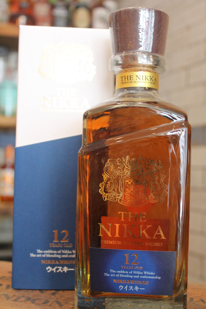 Nikka 12 Year Blended Whisky-Spirits-Seven Cellars