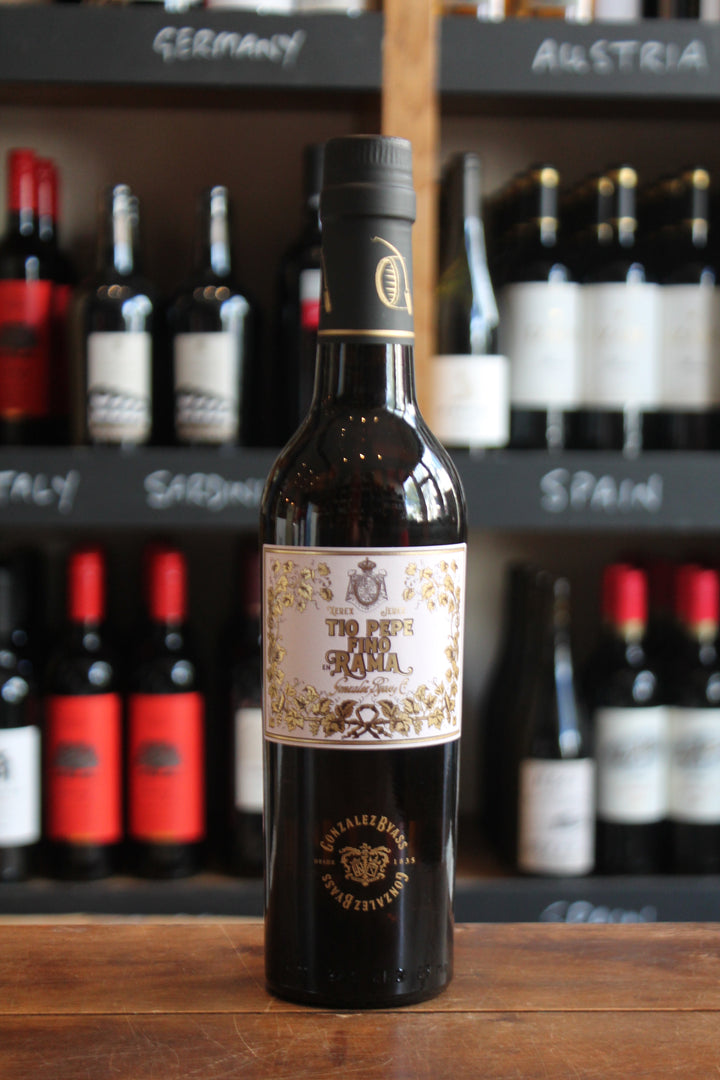 Tio Pepe Fino En Rama - 37.5cl Bottle-Fortified wine-Seven Cellars