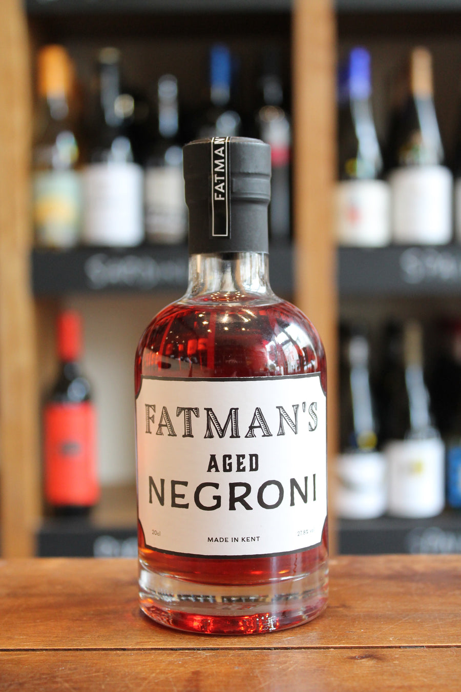 Fat Man's Aged Negroni 20cl Bottle-Spirits-Seven Cellars