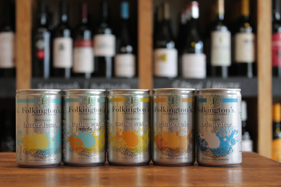 Folkingtons Club Soda CANS-Soft / Mixers-Seven Cellars