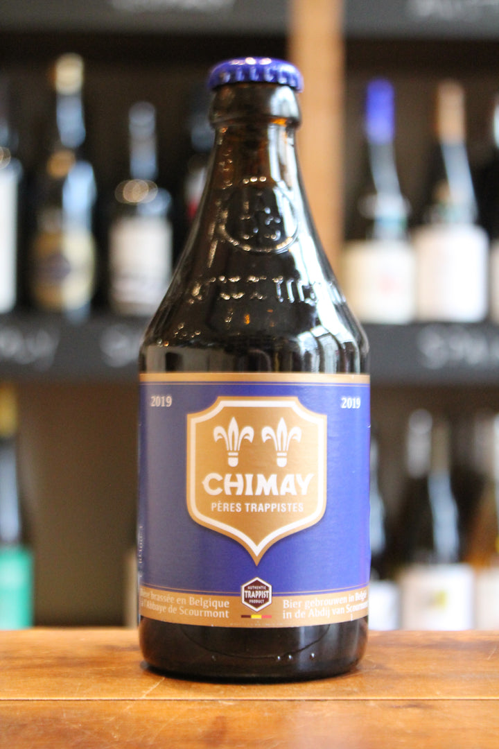 Chimay Blue-Beer-Seven Cellars