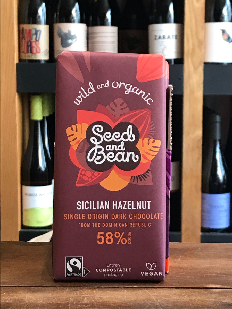Seed & Bean - Sicilian Hazelnut - Dark Chocolate