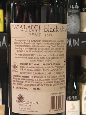 Black Slate - Priorat 2017