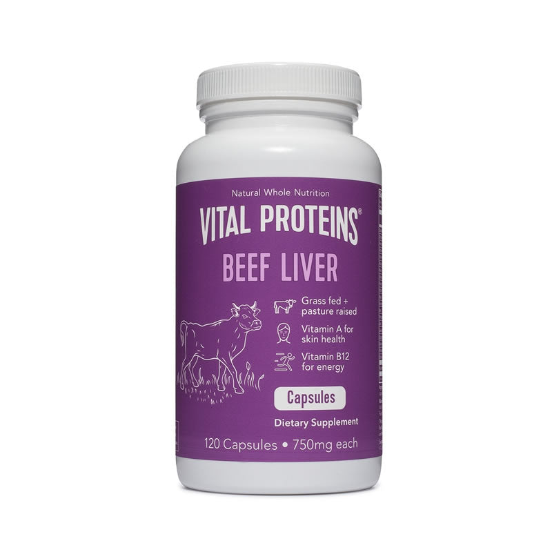 Vital Proteins Beef Liver 12 Month Subscription - Strength in Food