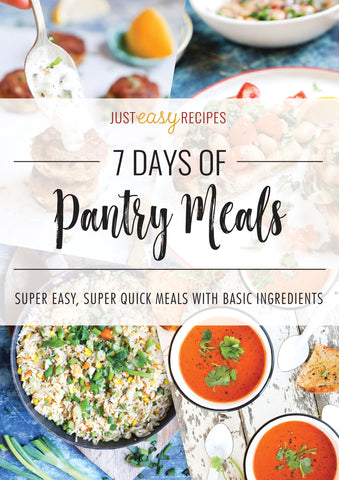 7 Days of Pantry Meals E-Book