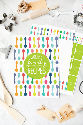 Monthly and Weekly Meal Planner Printable Templates