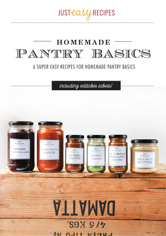 Pantry Basics E-Book