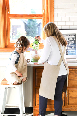 Pinafore Apron | Mom and Daughter Aprons