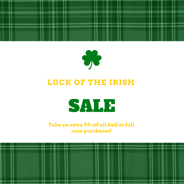 Luck of the Irish Sale (March 15-17)