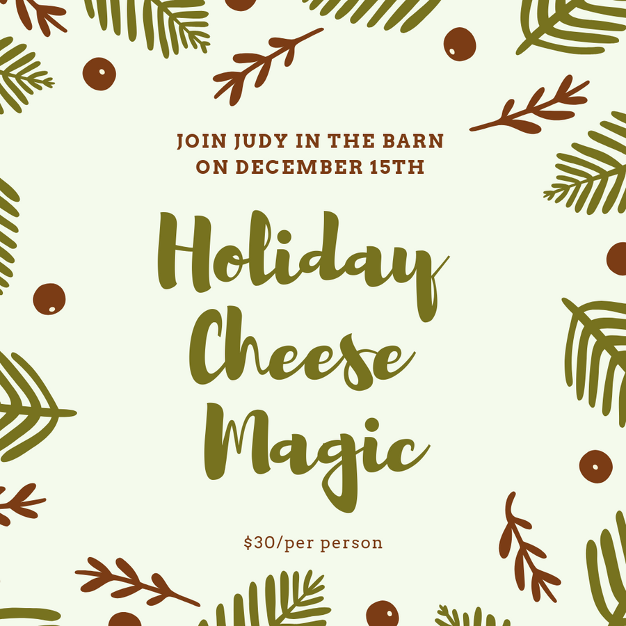 Holiday Cheese Magic with Judy