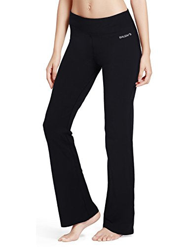 Women's Yoga Bootleg Pants Inner Pocket Comfortable Fit for Sports or Daily Wear - Everyday Crosstrain