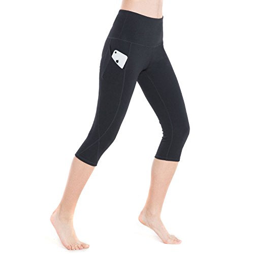 Women's High Waist Yoga Pants Tummy Control 4 Way Stretch Running Pants Workout - Everyday Crosstrain