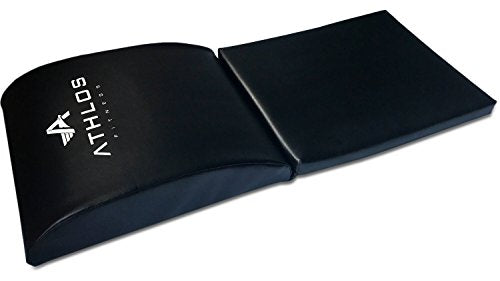 Ab Mat and Exercise Mat with Tailbone Protecting Pad for a Great Ab Workout - Everyday Crosstrain