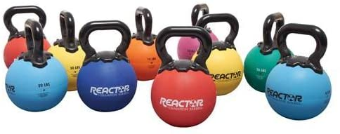 Premium Reactor Rubber Kettlebell - Best for home gym and the outdoor