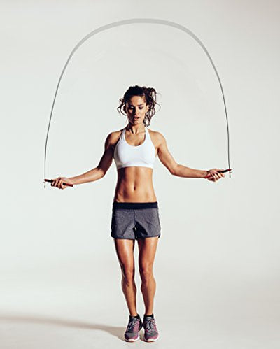 Aluminum Speed Jump Rope - Amazing Cardio Workout, Designed for Double Unders - Everyday Crosstrain