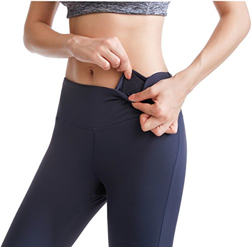 Women's Yoga Capris Power Flex Running Pants Leggings for Everyday Activities - Everyday Crosstrain