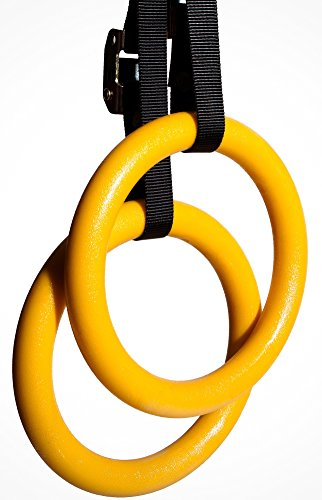 Nayoya Gymnastic Rings for Full Body Strength and Muscular Bodyweight Training - Everyday Crosstrain
