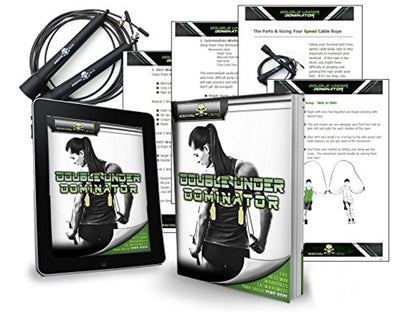 Speed Rope - Premium Quality - Best for Crossfit Workouts, MMA & Wrestling - Everyday Crosstrain