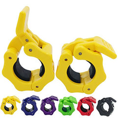 1 Inch Barbell Clamps Clip Quick Release Locking Barbells for Standard Bar - Everyday Crosstrain