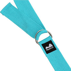 Adjustable Yoga Strap (6ft, 8ft, 10ft) Durable Cotton Exercise Straps with Ebook - Everyday Crosstrain