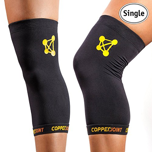 Single Knee Sleeve- Breathable, Durable, Light Weight, Effective and Comfortable - Everyday Crosstrain