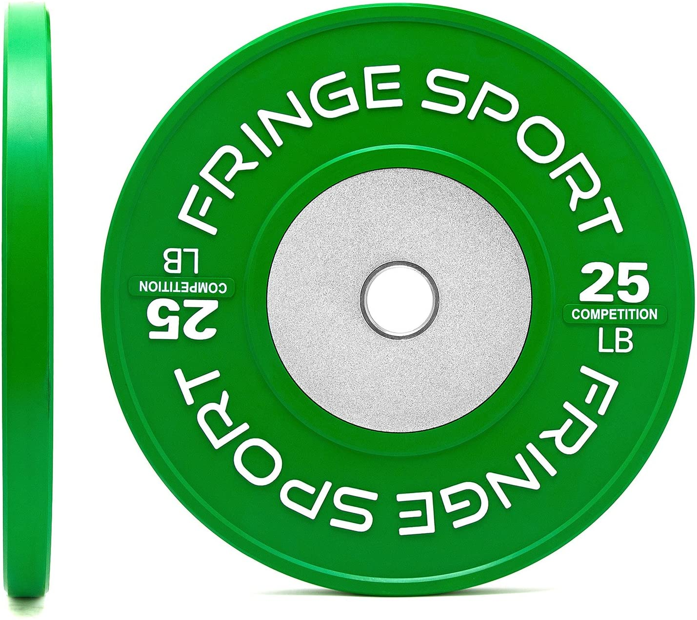 Fringe Sport Color Competition Bumper Plate Pairs in Pounds for Olympic...