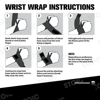 Professional Quality Wrist Wraps Provides Wrist Supports protection for Crossfit - Everyday Crosstrain
