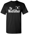 Funny Crossfit Workout T-Shirt - The WOD Father Godfather - For Gym or Crossfit