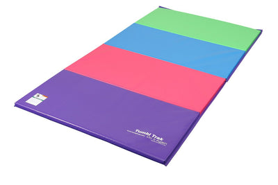 Durable Gymnastics Folding Tumbling Panel Mat - Perfect for multiple activities - Everyday Crosstrain