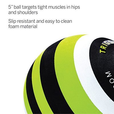 Foam Massage Ball for Deep-Tissue Massage. Ideal for Releasing Muscle Tightness - Everyday Crosstrain