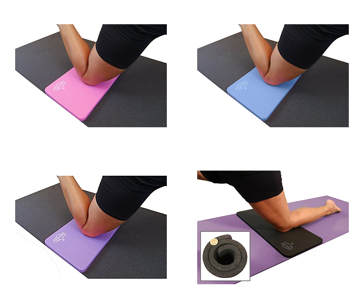 Yoga Knee Pad Cushion – Eliminate Pain During Yoga, Pilates with extra padding - Everyday Crosstrain