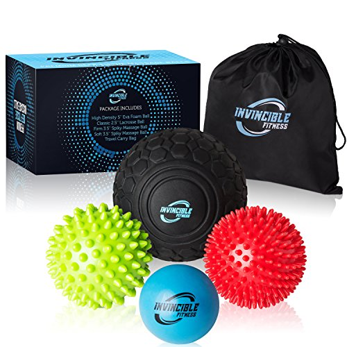 Deep Tissue Massage Ball Set for Trigger Point Therapy with Free bag and E-Book - Everyday Crosstrain