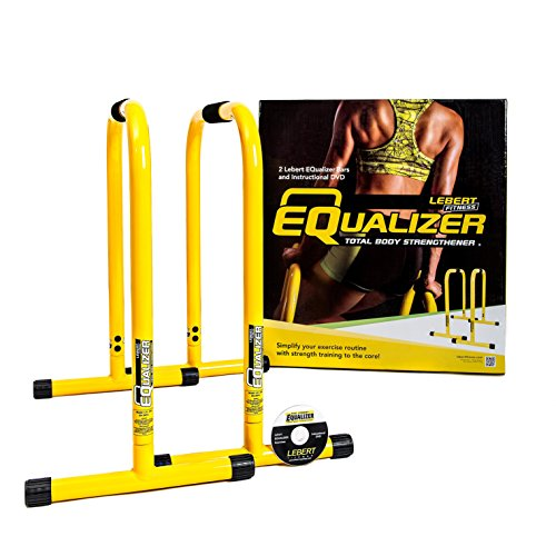 Portable Dip Station Parallettes for Multi-Purpose Bodyweight Strength Training