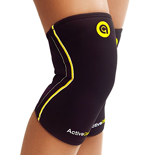 Compression Sleeve For Powerlifting Running And Crossfit. Knee Brace Pain Relief - Everyday Crosstrain