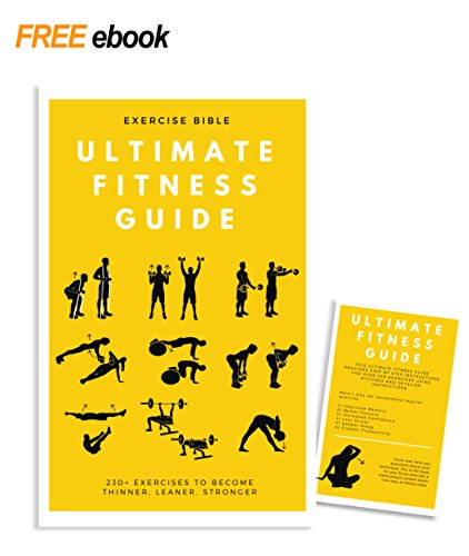 Set of 7 Large Laminated Exercise Fitness Posters for Great Home and Gym  Workout