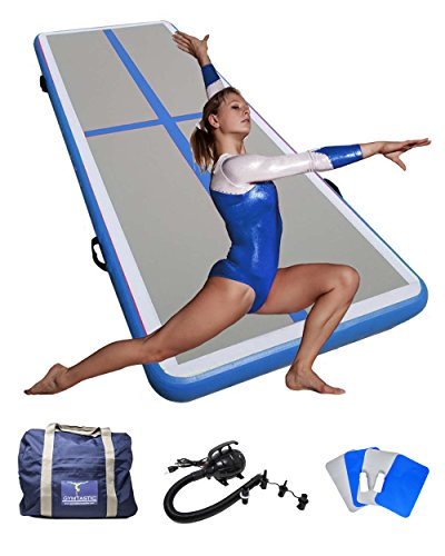 Gymnastic Professional inflatable Tumbling Mat. Great for Home Indoor or Gym use