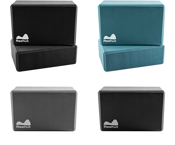 Yoga Block (1 or 2 PCs)  High Density EVA Foam Block to Support and Deepen Poses - Everyday Crosstrain
