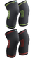 Knee Brace Support Compression Sleeves, 1 Pair FDA Registered Wraps Pads
