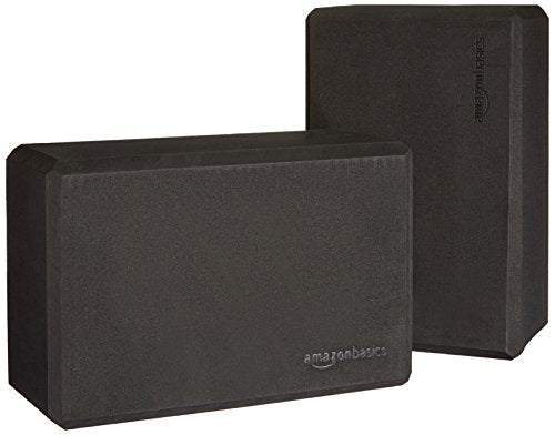 Yoga Blocks, Set of 2 - Durable High Density Foam Non-Slip, Multi-Functional - Everyday Crosstrain