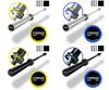 Olympic 20kg Men's and 15kg Women's Hard Chrome and Black Phosphate Barbells